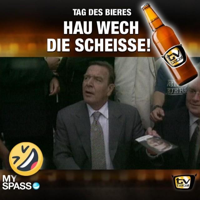 Hol mir mal ne Flasche Bier