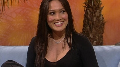 Tia Carrere kicks Stefans ass!