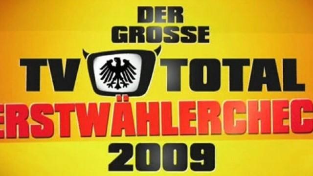 Tv Total Erstwählercheck 2009 Teil 5 14092009