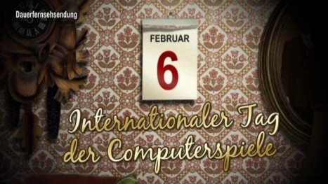 Kalenderblatt - Internationaler Tag der Computerspiele