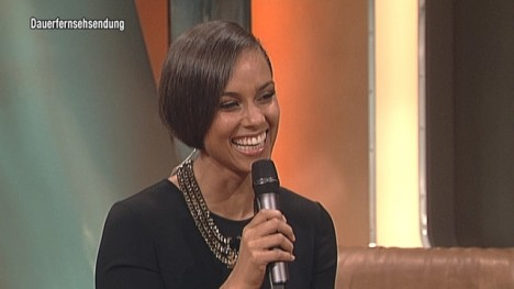 Alicia Keys im Talk