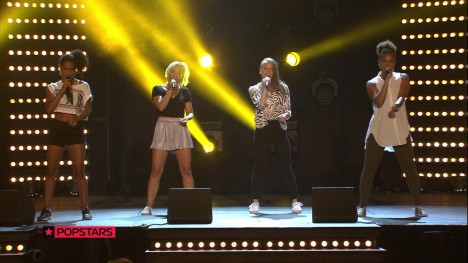 Gabriela, Sabrina, Nadja und Selina: Money On My Mind von Sam Smith