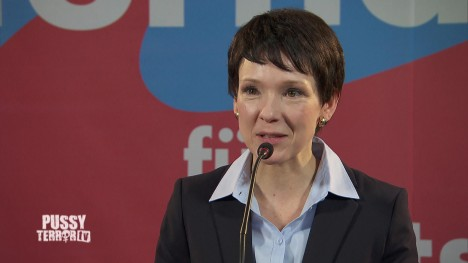 Frauke Petry ist Pussy des Monats