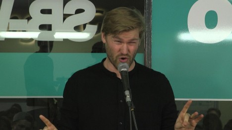 Shahak Shapira - Poetry Slam oder Trump Rede? - Night Wash live