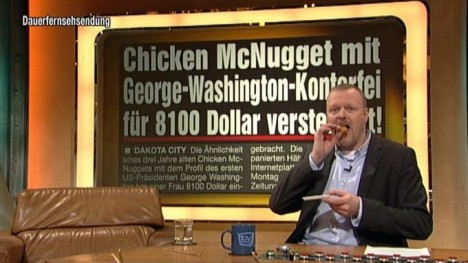 Chicken McNugget mit George Washington