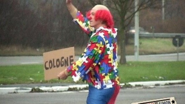 Trampen als Clown