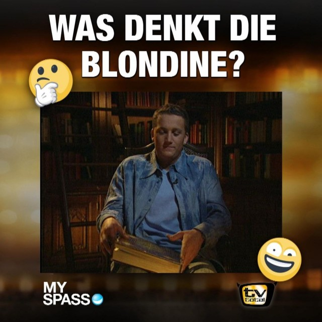 Blondinen-Witz
