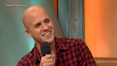 Milow im Talk