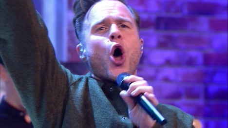 Bewegendes Finale mit Olly Murs - Moves
