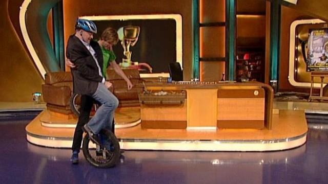 TV Total   Einrad Parkour