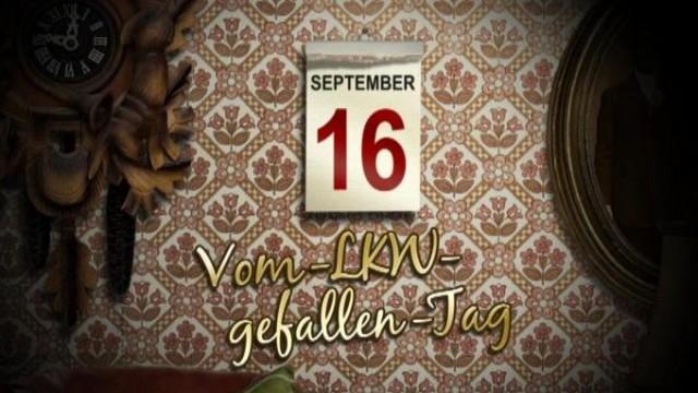 Tv Total Kalenderblatt Vom Lkw Gefallen Tag Auf Myspassde