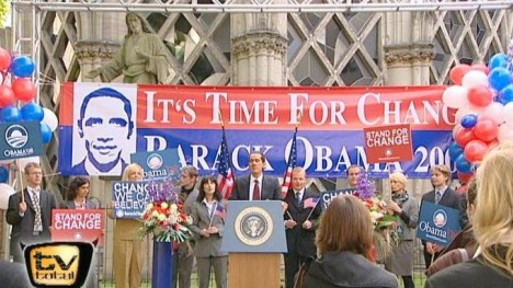 Barack Obama - It`s time for change