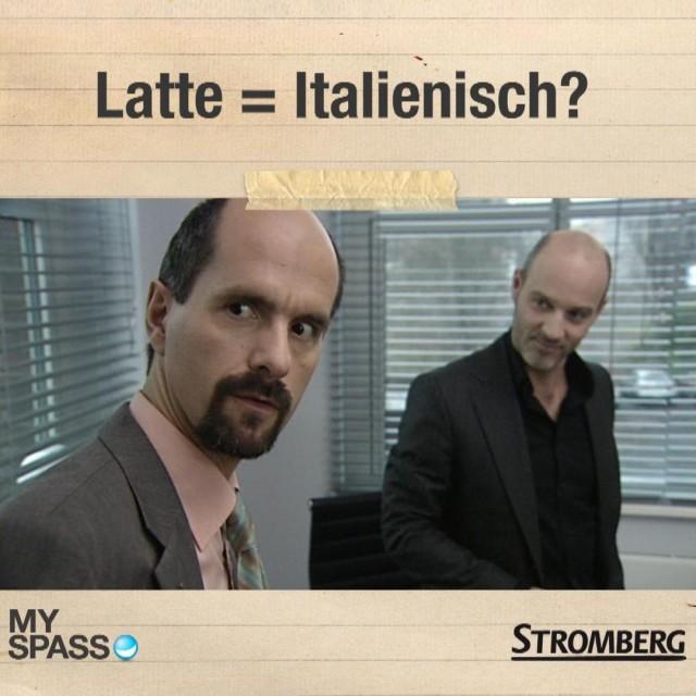 Latte = Italienisch?