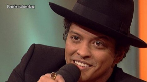 Bruno Mars im Talk