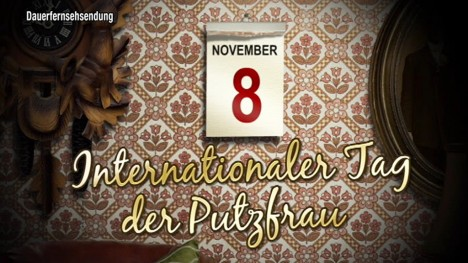 Internationaler Tag der Putzfrau