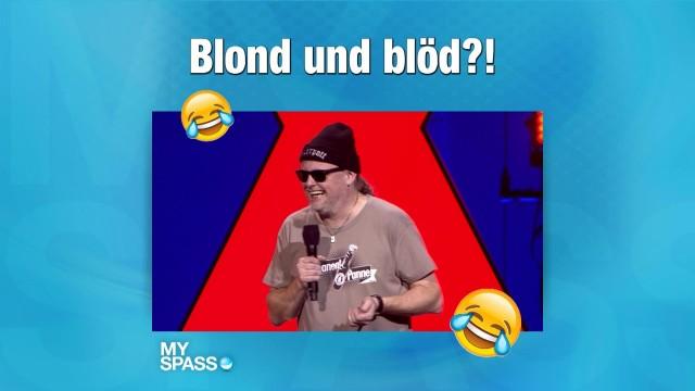 Blondinenwitz