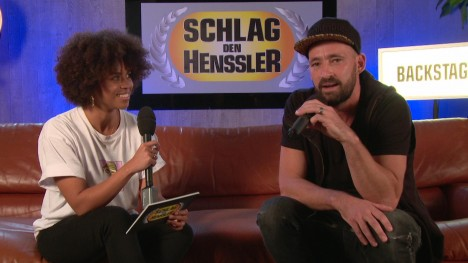 Schlag den Henssler ? Backstage Interview mit Gentleman