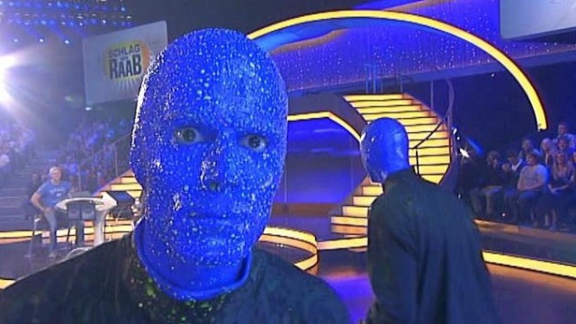 BLUE MAN GROUP bei Schlag den Raab