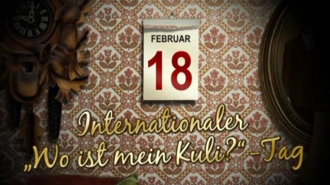 Internationaler ´Wo ist mein Kuli?´-Tag