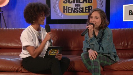 Schlag den Henssler ? Backstage Interview mit Alice Merton