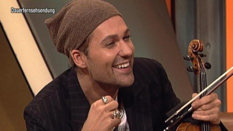 David Garrett im Talk
