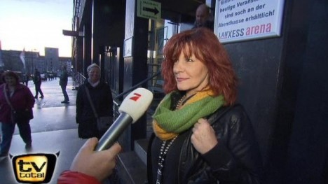 Andrea Berg Fan-Check