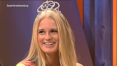 Miss Germany im Talk