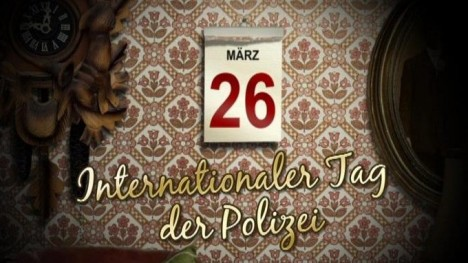Kalenderblatt - Internationaler Tag der Polizei