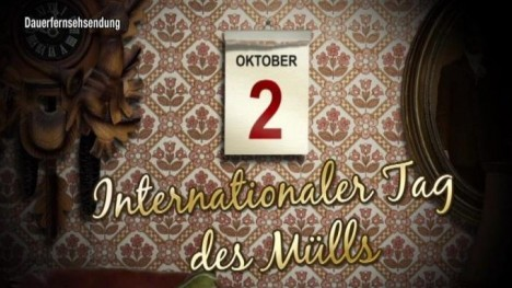 Kalenderblatt - Internationaler Tag des Mülls