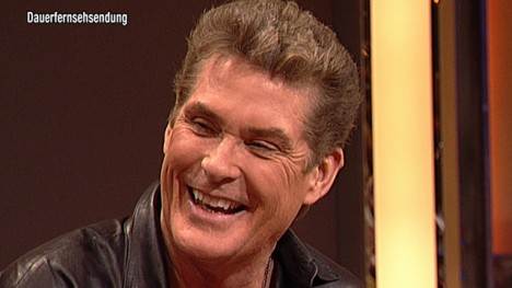 The Hoff im Talk