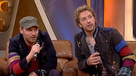 Coldplay im Talk