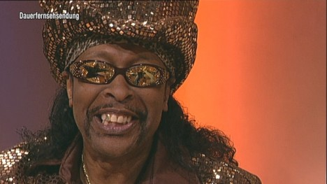 Bootsy Collins funkt TV total