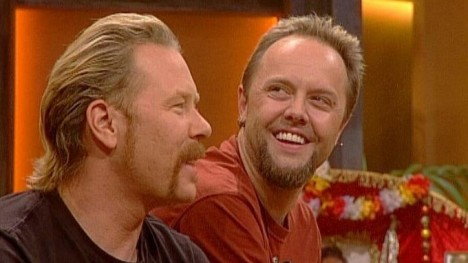 Metallica bei TV total