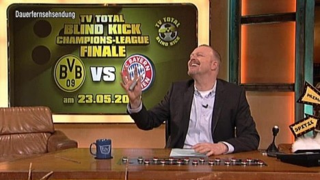 Das TV total Blindkick Champions League Finale