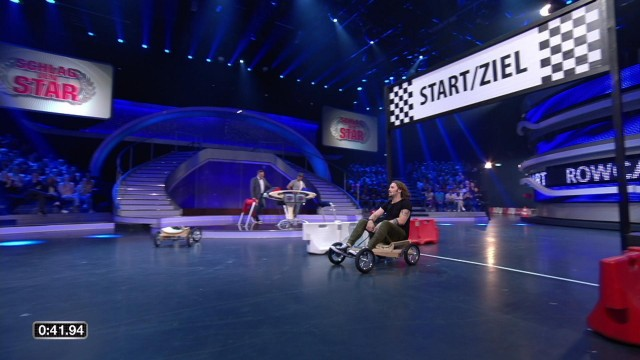 Spiel 5 Rowcart Schlag Den Star 2018 Clip Aus Folge 1 Myspassde
