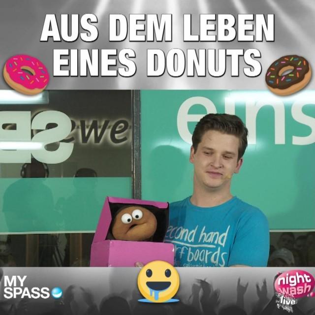 Aus dem Leben eines Donuts