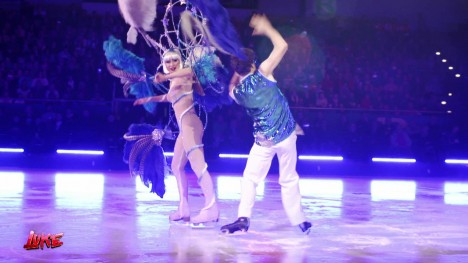 Luke bei Holiday on Ice