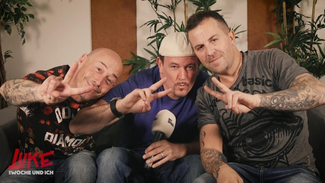 Backstage-Interview mit East17