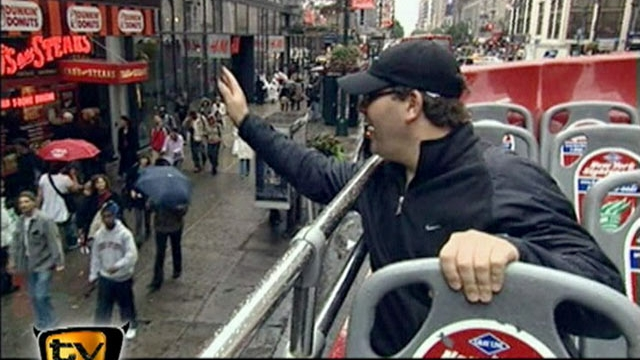 Elton läuft: Sightseeing in New York