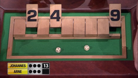 Spiel 4 - Shut the Box