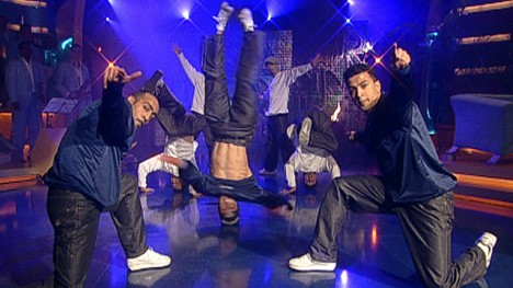 Breakdance mit den Flying Steps