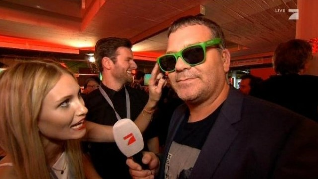 Elton im Green Room