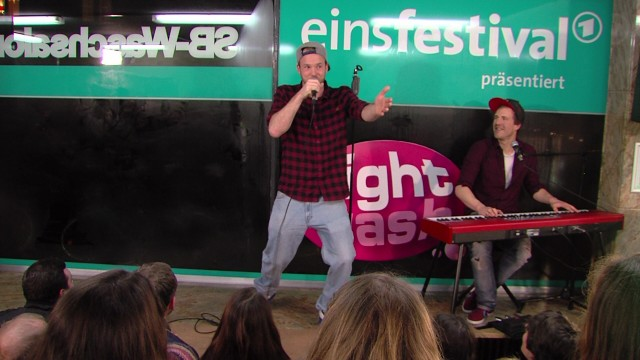 Quichotte: Freestyle Rap bei NightWash live