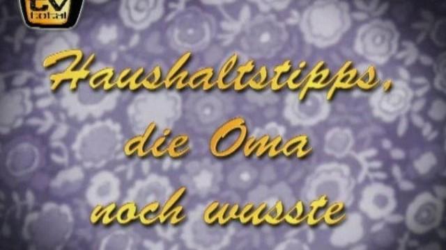 Tv Total Omas Haushaltstipps Kostenlos Streamen Bei Myspass De