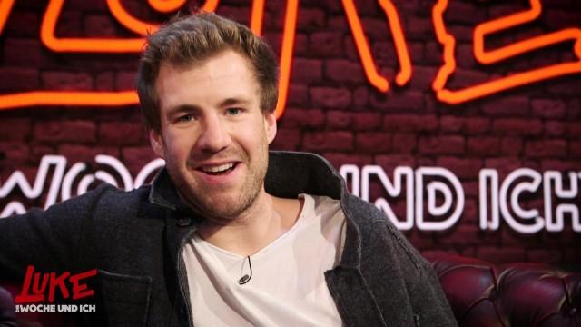 Backstage-Interview mit Luke