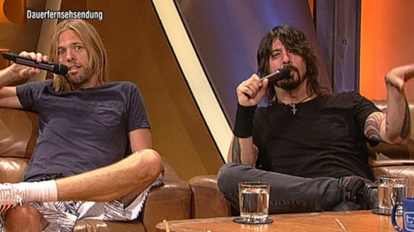 Foo Fighters im Talk