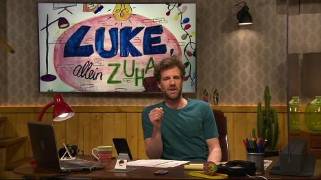 Luke Allein Zuhause