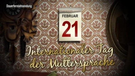 Kalenderblatt - Internationaler Tag der Muttersprache